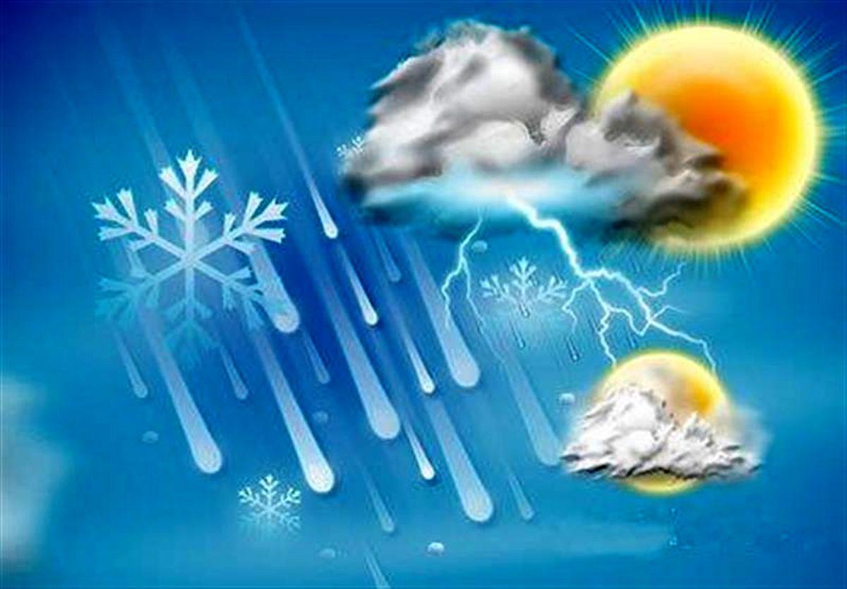 هوا در استان های شمالی گرم می شود