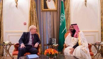 گفتوگوی بوریس جانسون با محمد بن سلمان درباره حمله به آرامکو