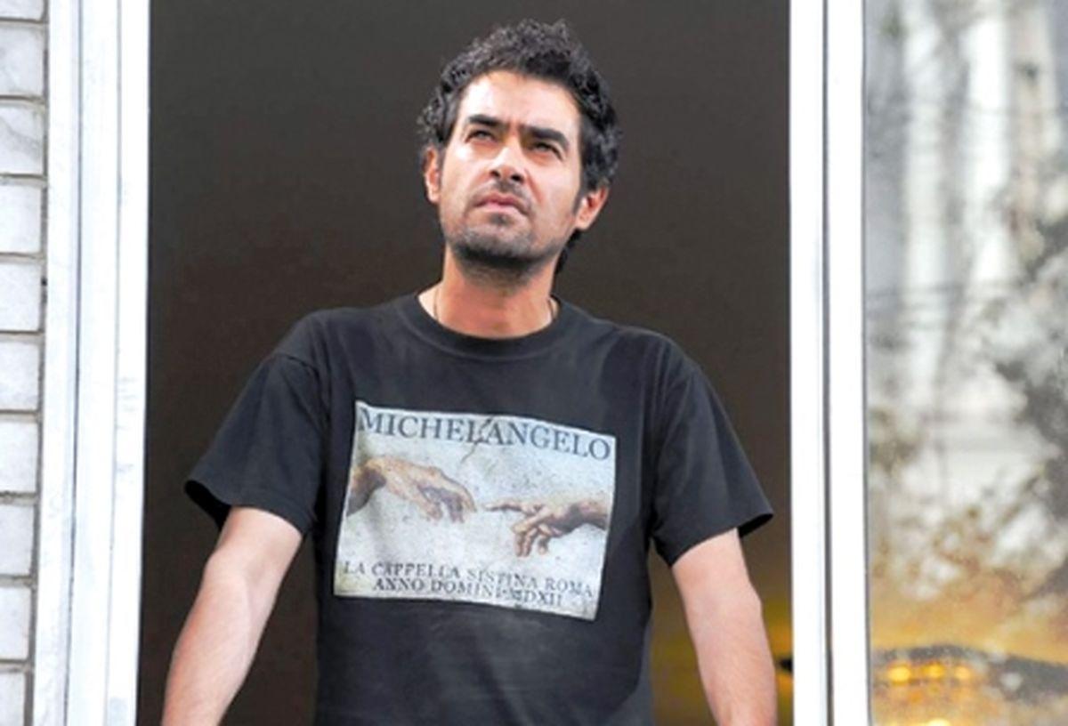 عکس زیر خاکی شهاب حسینی و پسرش