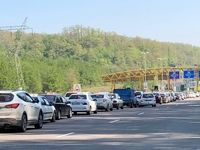ترافیک روان در جادههای کشور