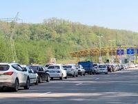 وضعیت متفاوت جادههای مازندران +عکس