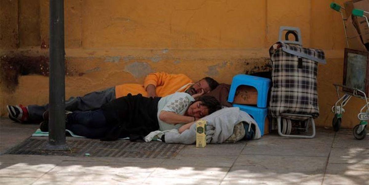افزایش ۷۰درصدی بیخانمانها در اتحادیه اروپا
