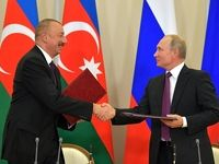 روسیه و جمهوری آذربایجان 10 سند همکاری امضا کردند
