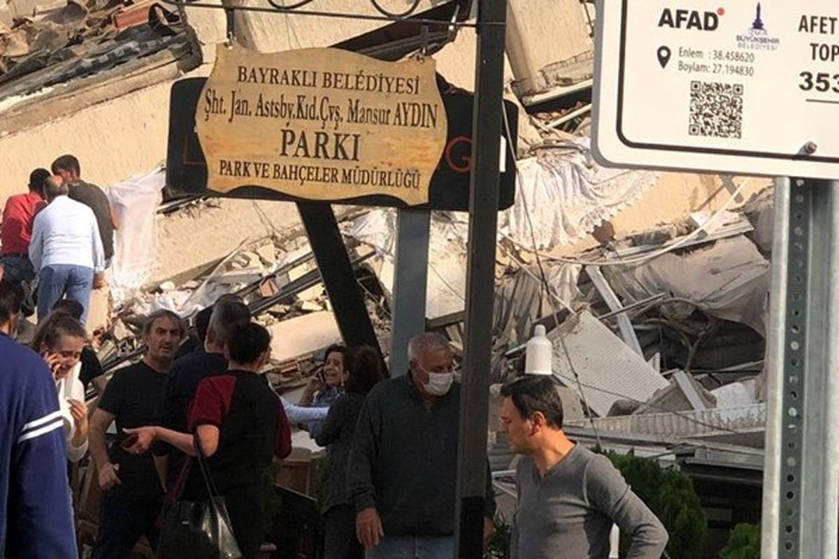 ثبت بیش از ۱۱۴پسلرزه در ترکیه