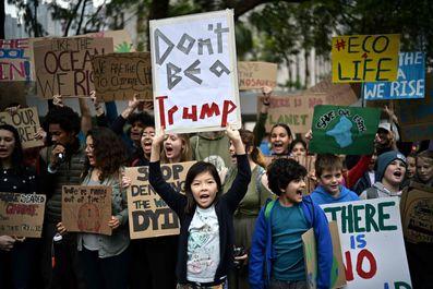 تظاهرات دانش آموزان سراسر جهان علیه تغییرات اقلیمی