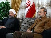 لاریجانی قانون اقدام متقابل دربرابر آمریکا را ابلاغ کرد