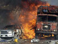 انفجار کامیون حامل بمب در سومالی +تصاویر