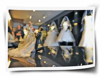 رخت سیاه بر تن مزونهای لباس عروس