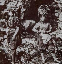 دختران صیاد ۱۶۰سال پیش +تصاویر