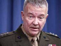 مککنزی مدعی افزایش تهدید ایران در افغانستان شد
