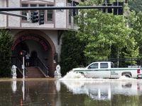 خسارات طوفان آلبرتو در آمریکا +عکس