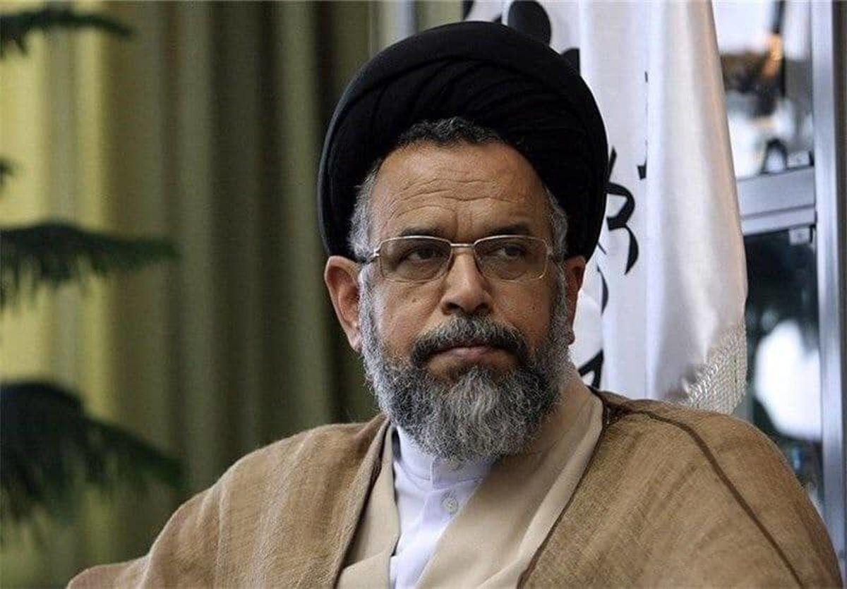 وزیر اطلاعات عزادار شد +عکس