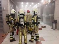 آتشسوزی در مجتمع تجاری تیراژه ۲ +عکس
