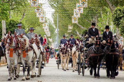 جشن بهار در اسپانیا +تصاویر