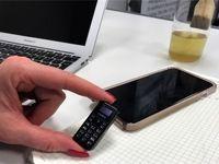 تولید کوچکترین گوشی تلفن همراه جهان +عکس