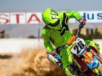 مسابقات انتخابی قهرمانی کشور موتور کراس +تصاویر