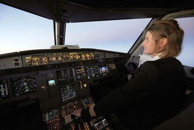 خلبان شرکت هوایی ایرفرانس