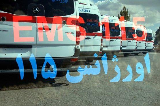 آماده باش اورژانس تهران در مناطق ۲۲گانه