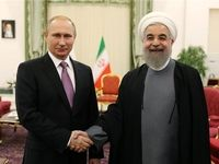 روحانی روز ملی روسیه را به پوتین تبریک گفت