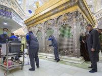 کرونا در عراق، درهای حرمین کاظمین را بست