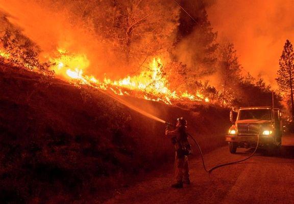آتشسوزی کالیفرنیا ۱۷ هزار خانه را تهدید میکند