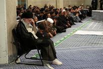 مراسم سوگواری شهادت امام علی(ع) در حضور رهبر انقلاب