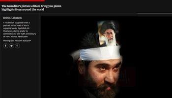 ابراز ارادت جالب یک لبنانی به رهبر انقلاب +عکس