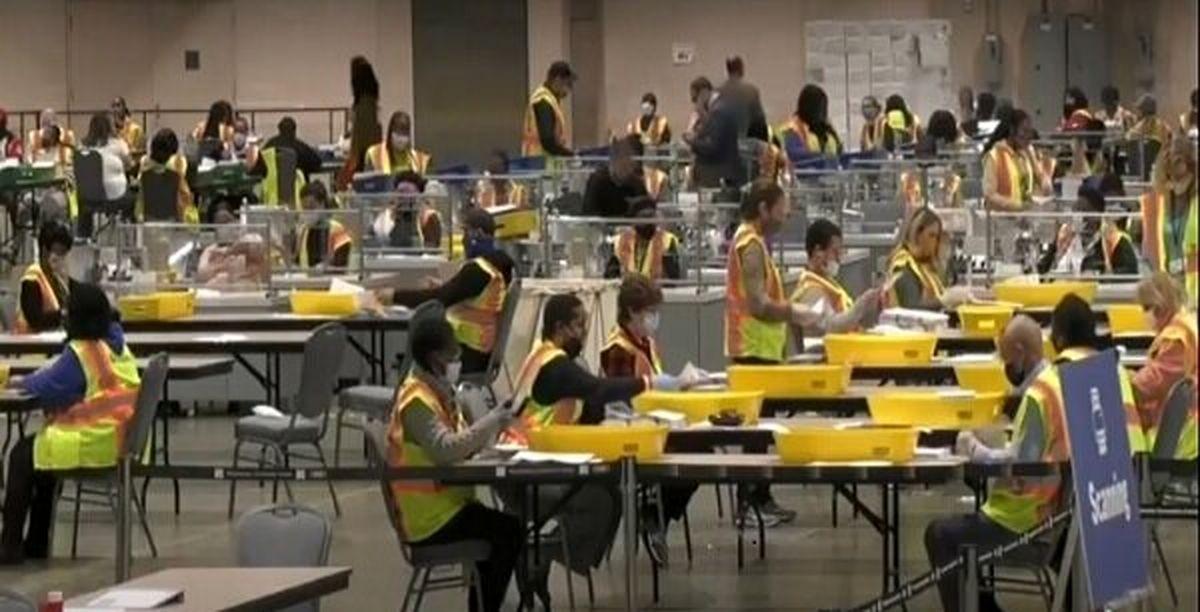 اعلام نتایج ایالات نوادا و پنسیلوانیا به تعویق افتاد