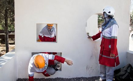 تمرینات آمادگی زنان امدادگر