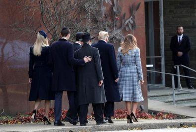 ترامپ در کنیسه، پاتسبورگ