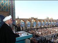 روحانی: نگذاریم خواست آمریکا از حنجره عدهای معدود بلند شود +فیلم
