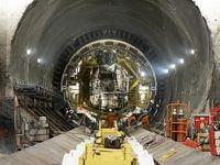 چگونگی ساخت تونلهای بزرگ با غول تونلساز +فیلم