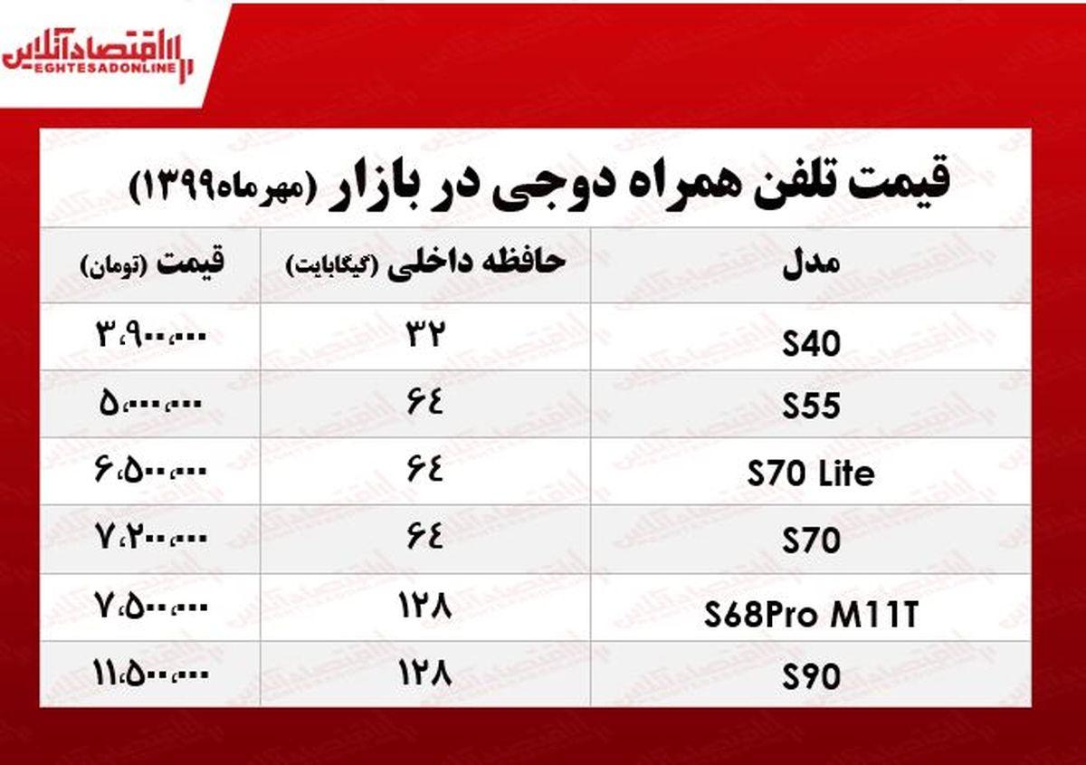 قیمت روز موبایل دوجی در بازار +جدول