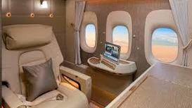 فرست کلس دیدنی هواپیمایی امارات +فیلم