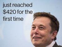 سهام تسلا رکورد تاریخی خود را شکست