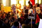 تظاهرات سوئیسیها علیه سفر ترامپ به داووس