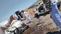 تصادف مرگبار امروز زاهدان با ۱۴ کشته! +عکس
