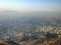 وزش باد بسیار شدید در تهران