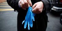 دستکش یکبار مصرف عامل انتقال ویروس کرونا