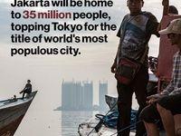 رشد چشمگیر جمعیت در جاکارتا/ مقامات اندونزی در فکر جابجایی پایتخت