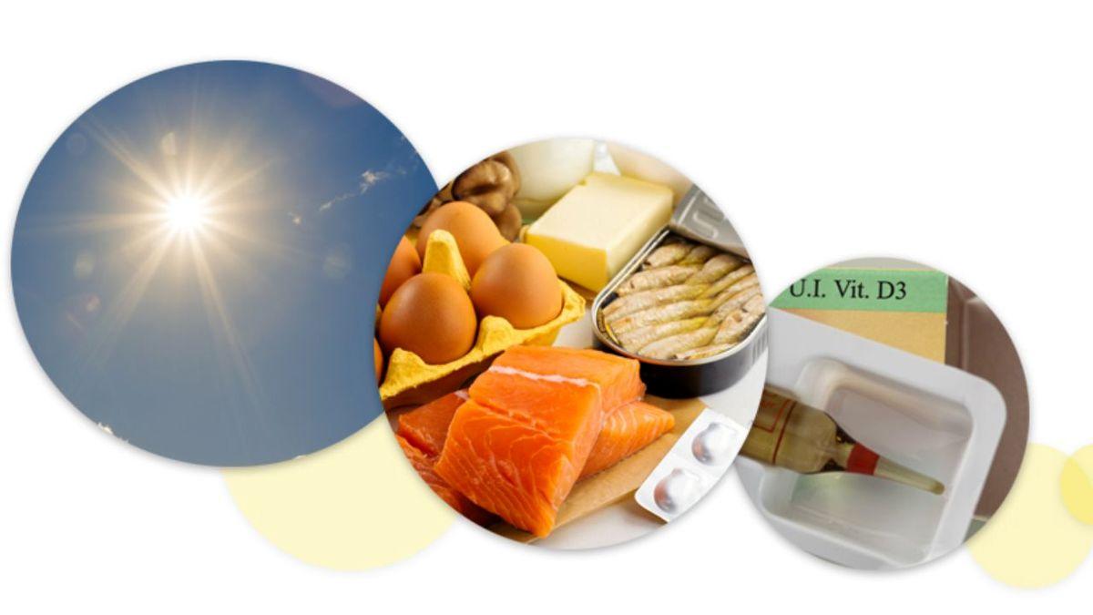۱۰ علامت و نشانه کمبود ویتامین دی
