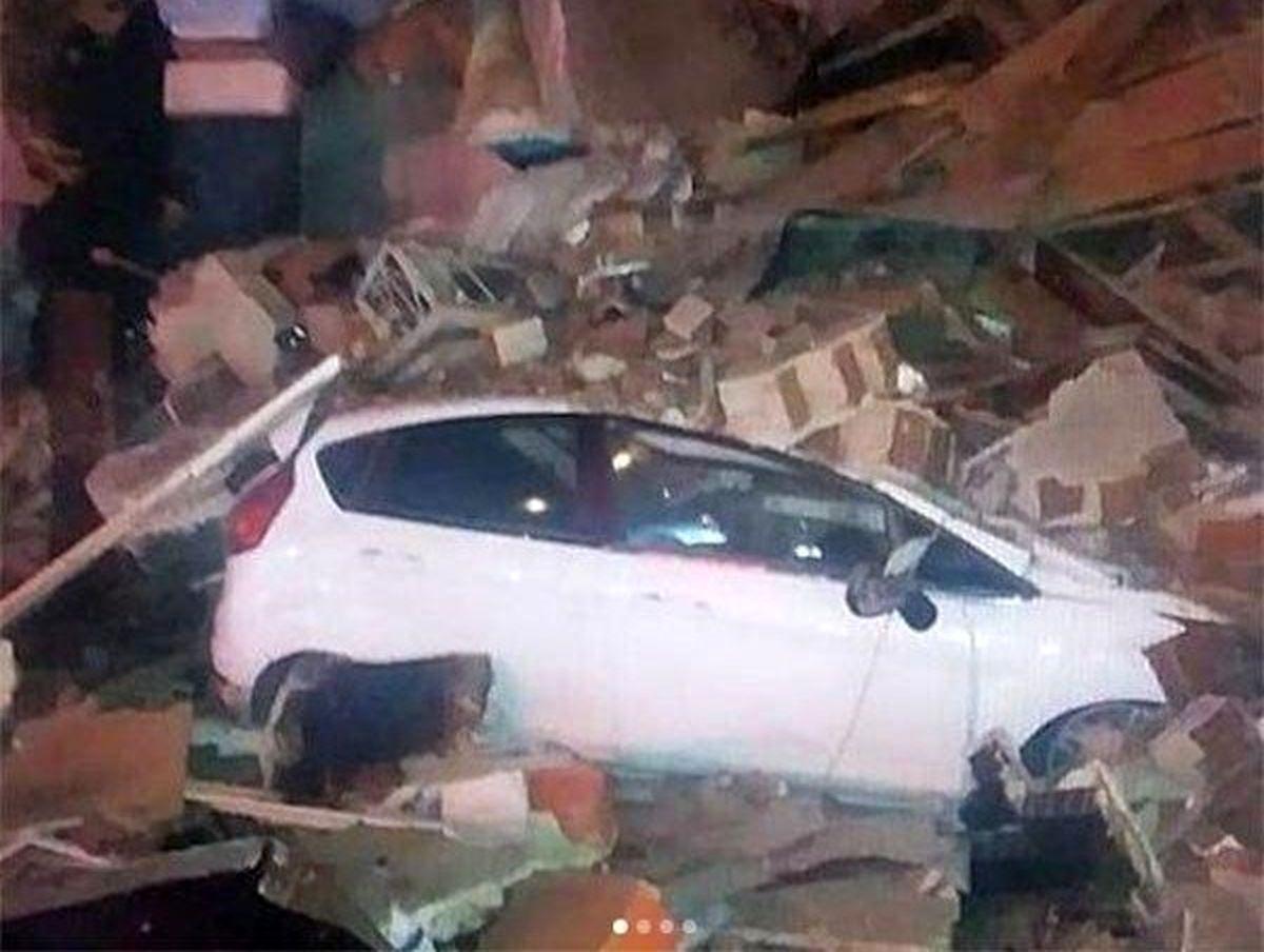 خسارت شدید زلزله در ترکیه +فیلم