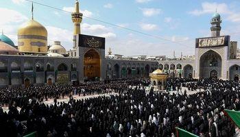بیش از ۲ میلیون ۵۰۰ هزار زائر وارد مشهد شدند