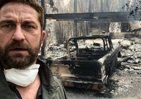 خانه بازیگر مشهور در آتش سوخت +عکس