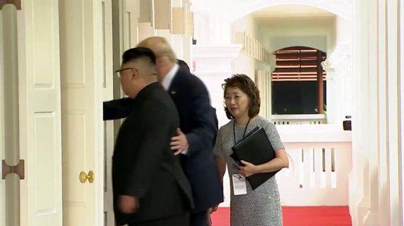 زنی که از پشتپرده مذاکرات ترامپ و اون خبر دارد +عکس