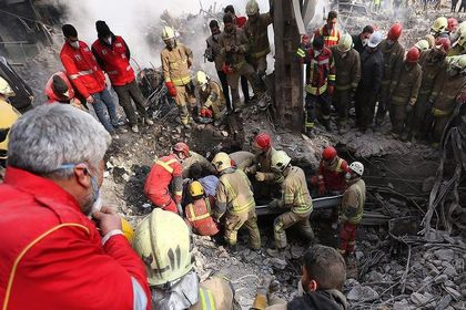 روزی که پلاسکو ۱۶ آتشنشان را بلعید +تصاویر