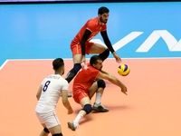 پیروزی والیبالیستهای ایران مقابل استرالیا +تصاویر