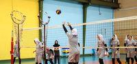 تمرین تیم ملی والیبال بانوان برای مسابقات قهرمانی آسیا +تصاویر
