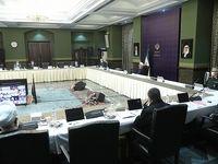 رییس جمهور در جلسه ستاد ملی مقابله با بیماری کرونا +عکس