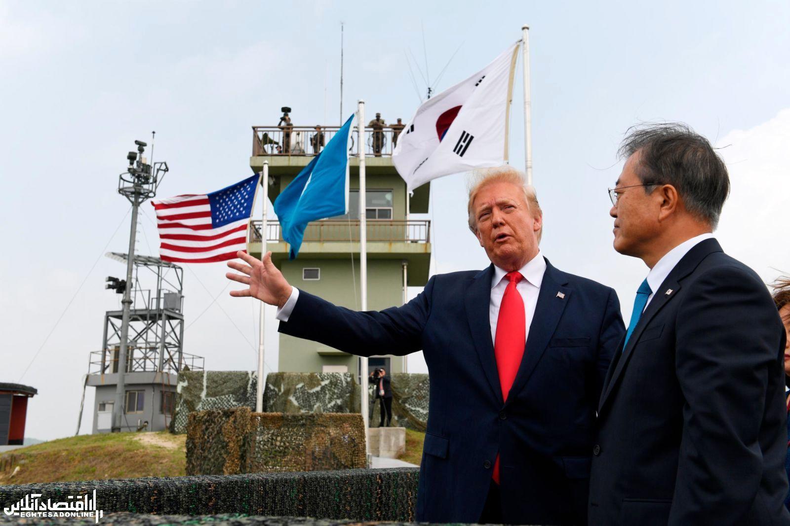 دیدار ترامپ و کیم جونگ اون در خاک کره شمالی
